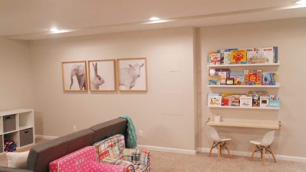 Basement Playroom | House Tour