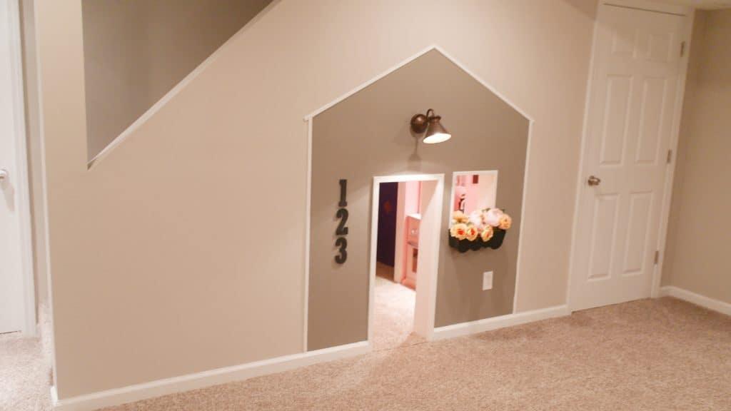 Basement Play Room | House Tour