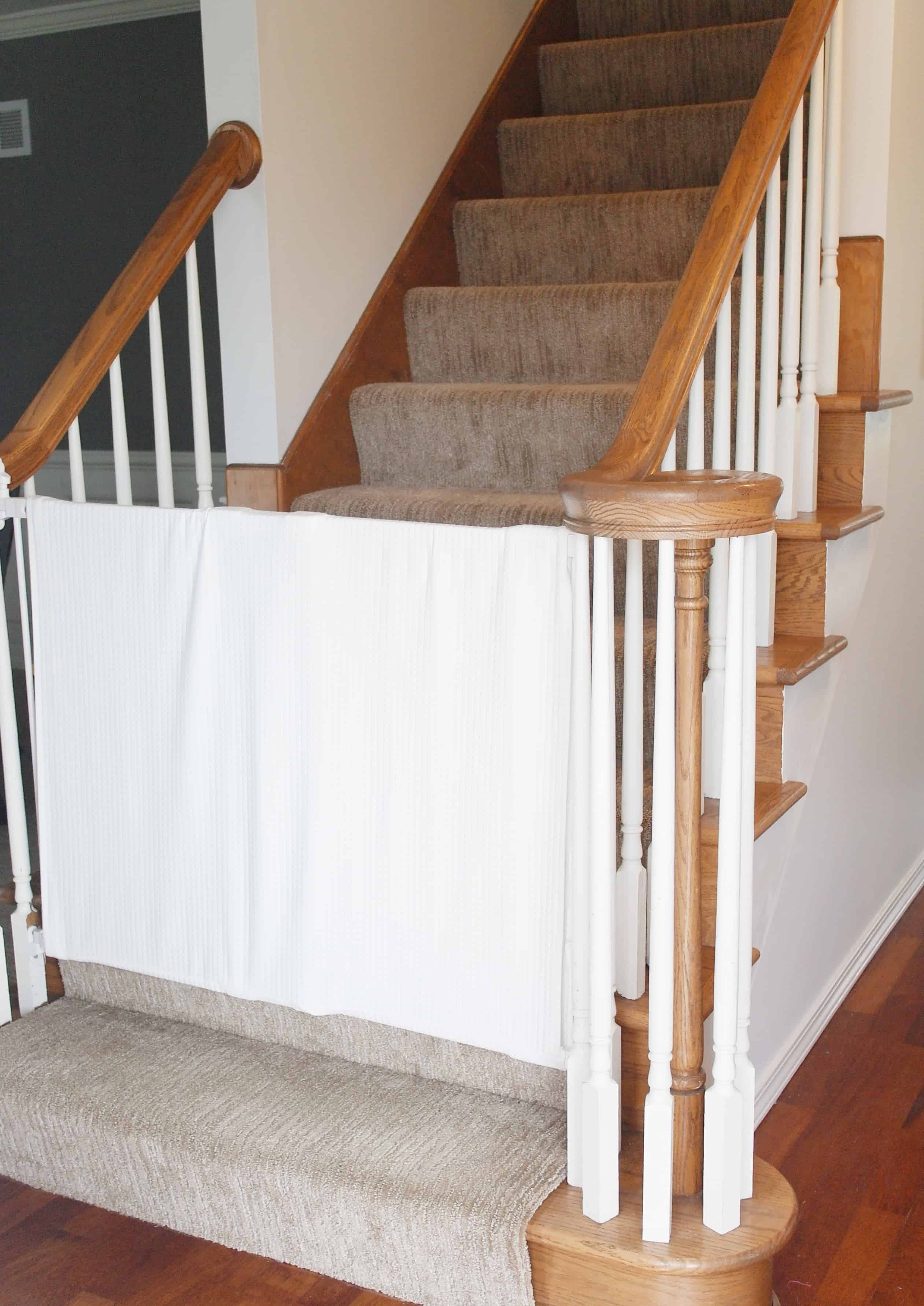 fabric baby gate cover