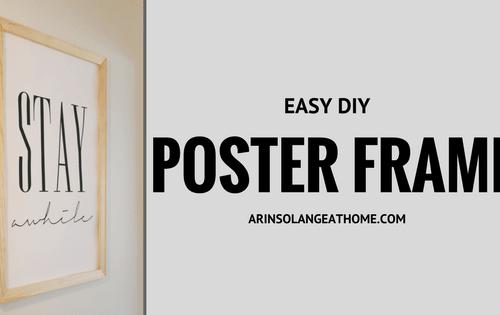 DIY Frame arinsolangeathome.com