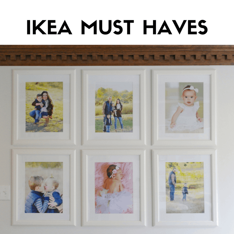 Ikea frame wall | Favorite Ikea Items