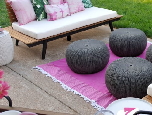 Patio on a Budget - www.arinsolangeathome.com
