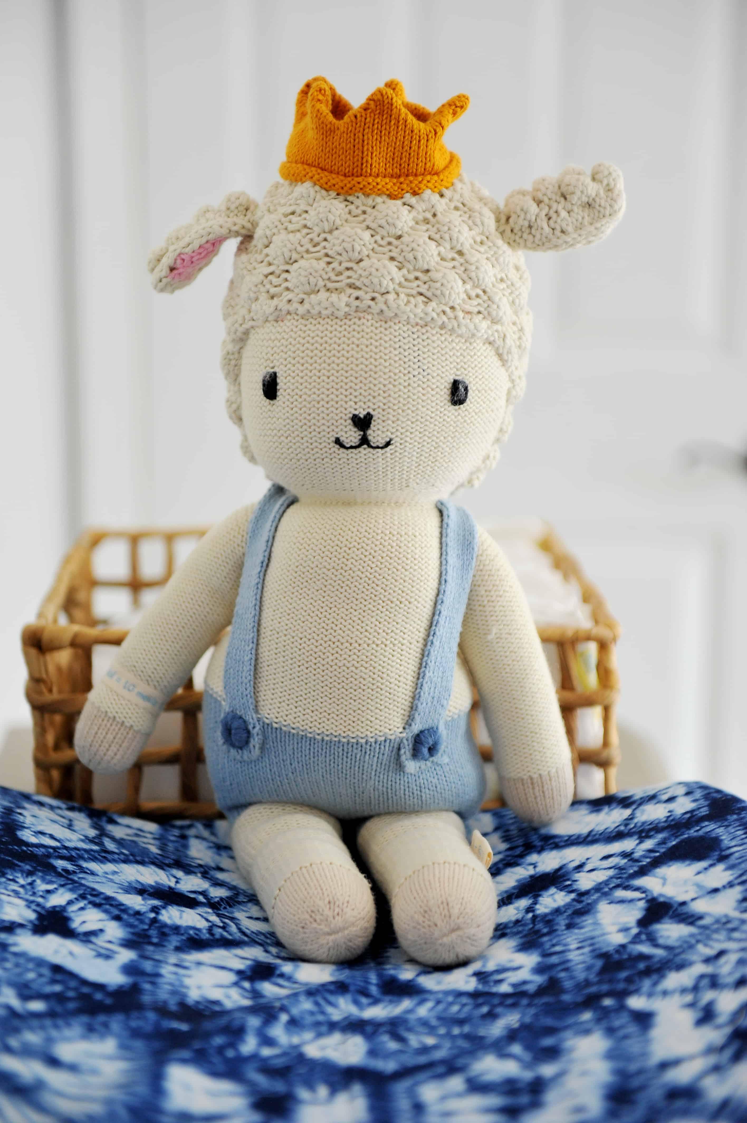 cuddle and kind sebastian doll | Modern Boy Nursery Items