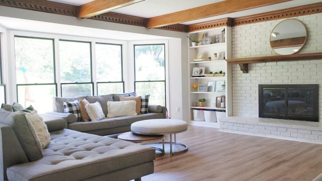 Living Room - House Tour