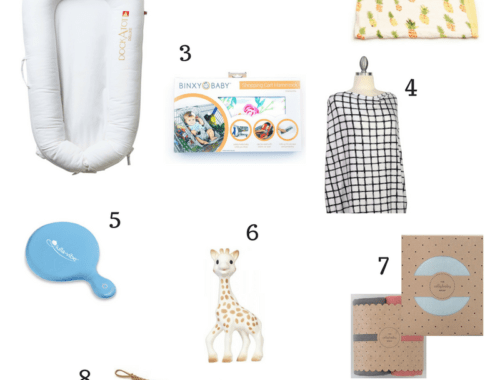 Newborn Must Haves - www.arinsolangeathome.com