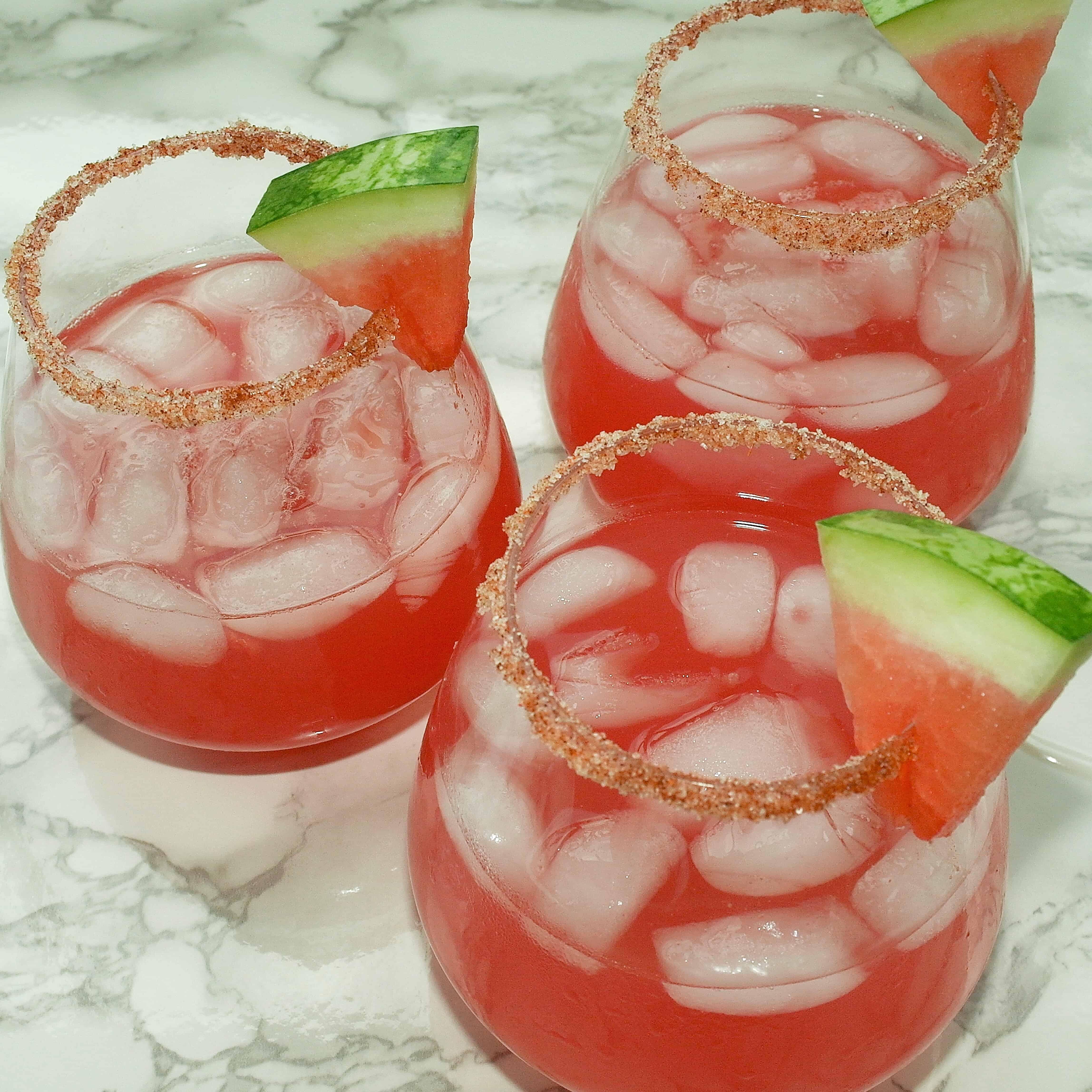 Watermelon Jalapeño Margarita - www.arinsolangeathome.com
