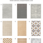 Favorite Affordable Rugs