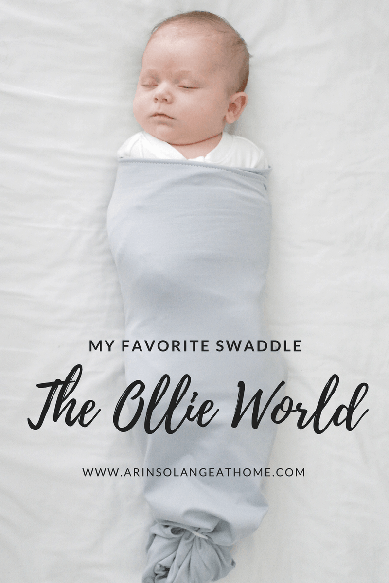 baby in ollie swaddle | Ollie Swaddle Review