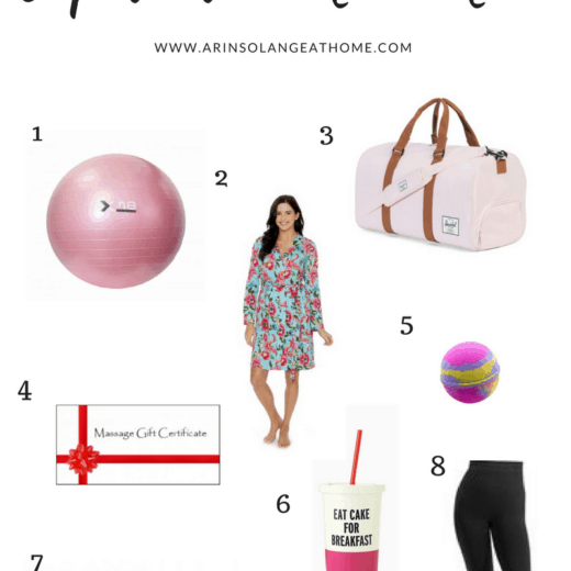Gift guide for new or expectant moms - www.arinsolangeathome.com