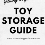 Toy Storage Guide