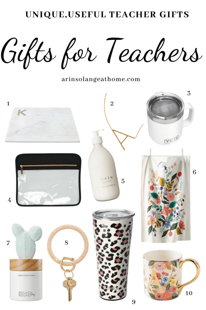 teacher appreciation gifts round up