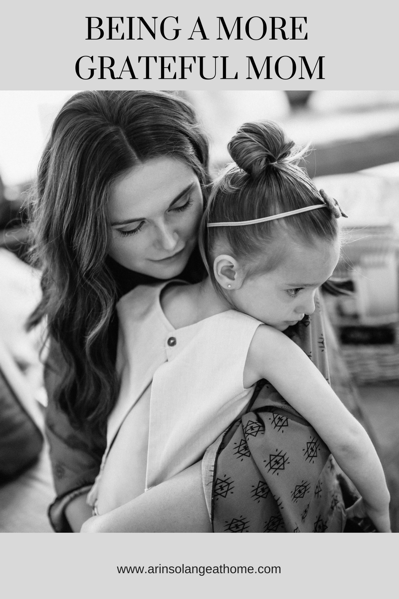 Being a more grateful mom