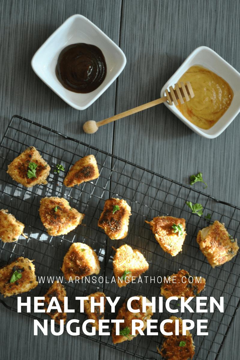Healthy Chicken Nugget Recipe - www.arinsolangeathome.com