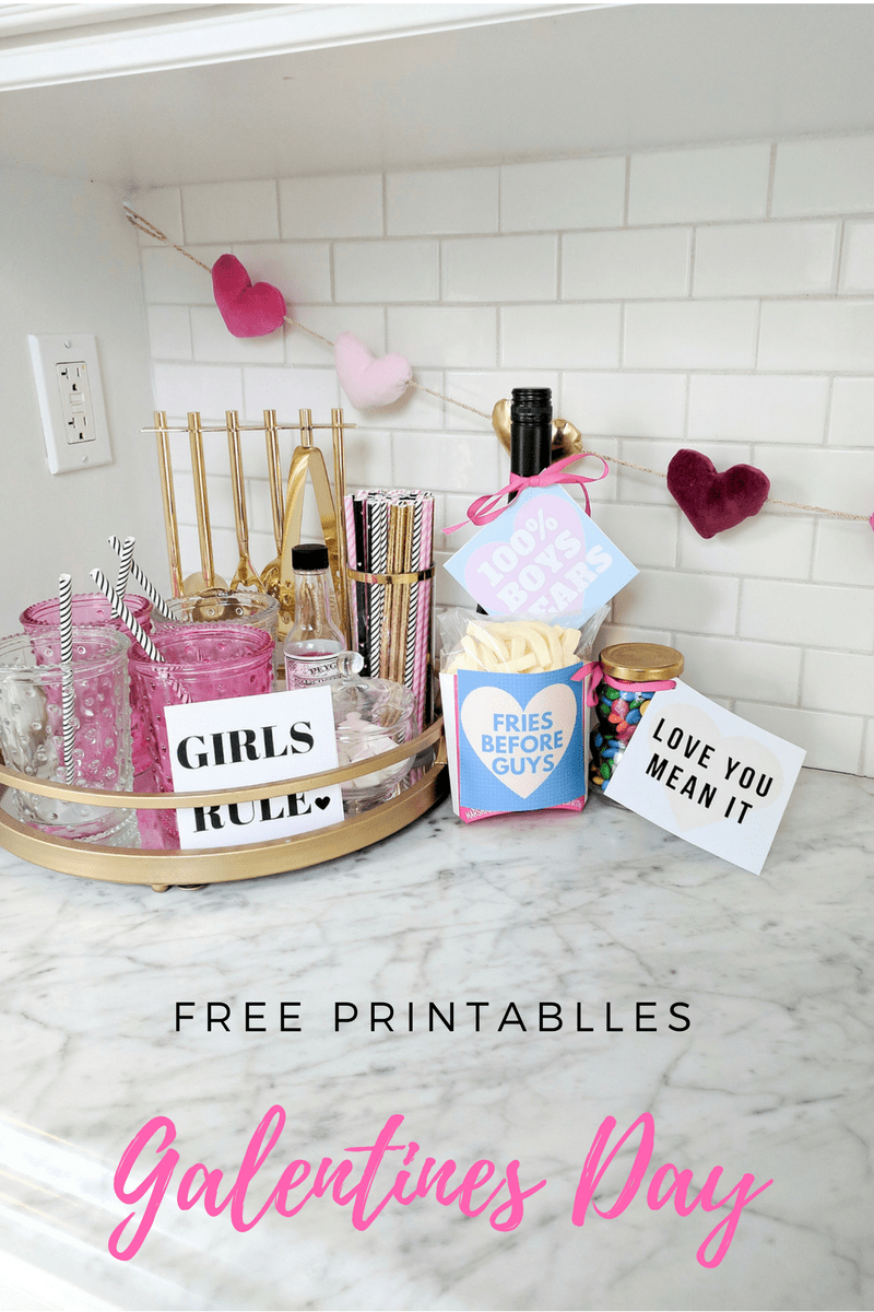 Galentines Day Printables