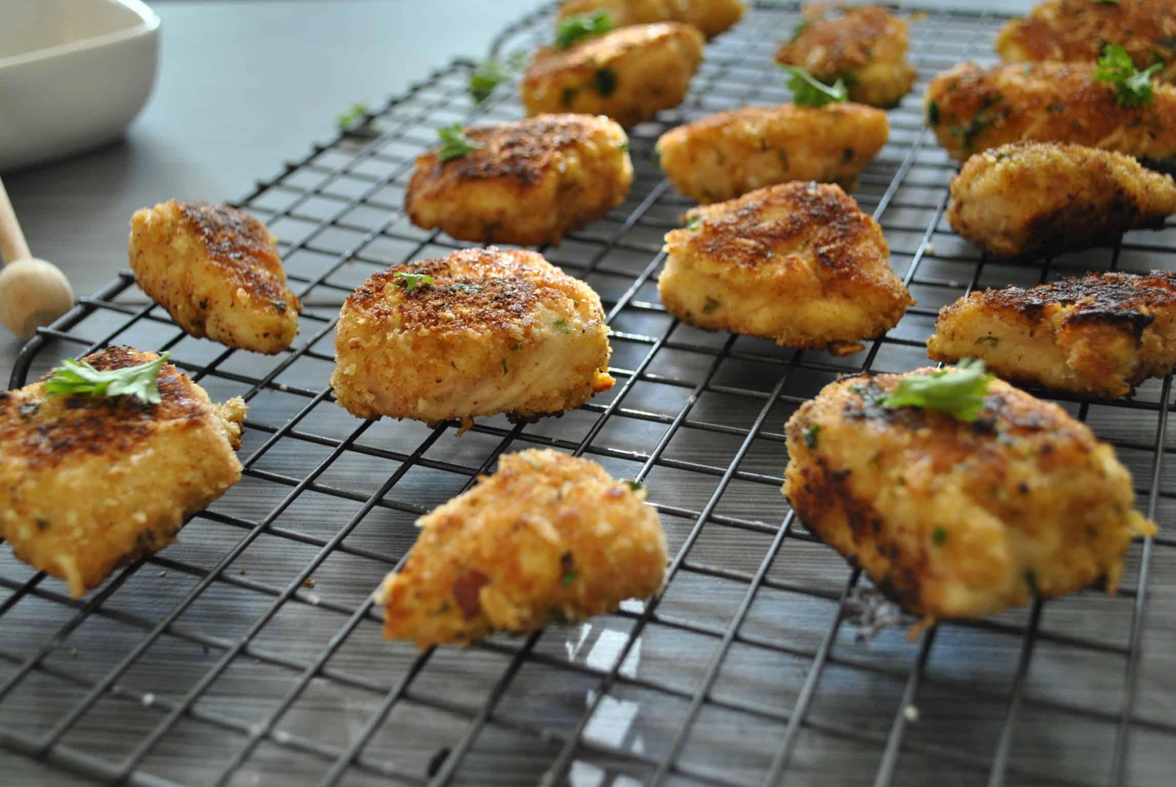 Healthy Chicken Nugget Recipe -www.arinsolangeathome.com
