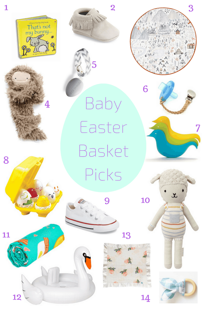 baby easter basket picks