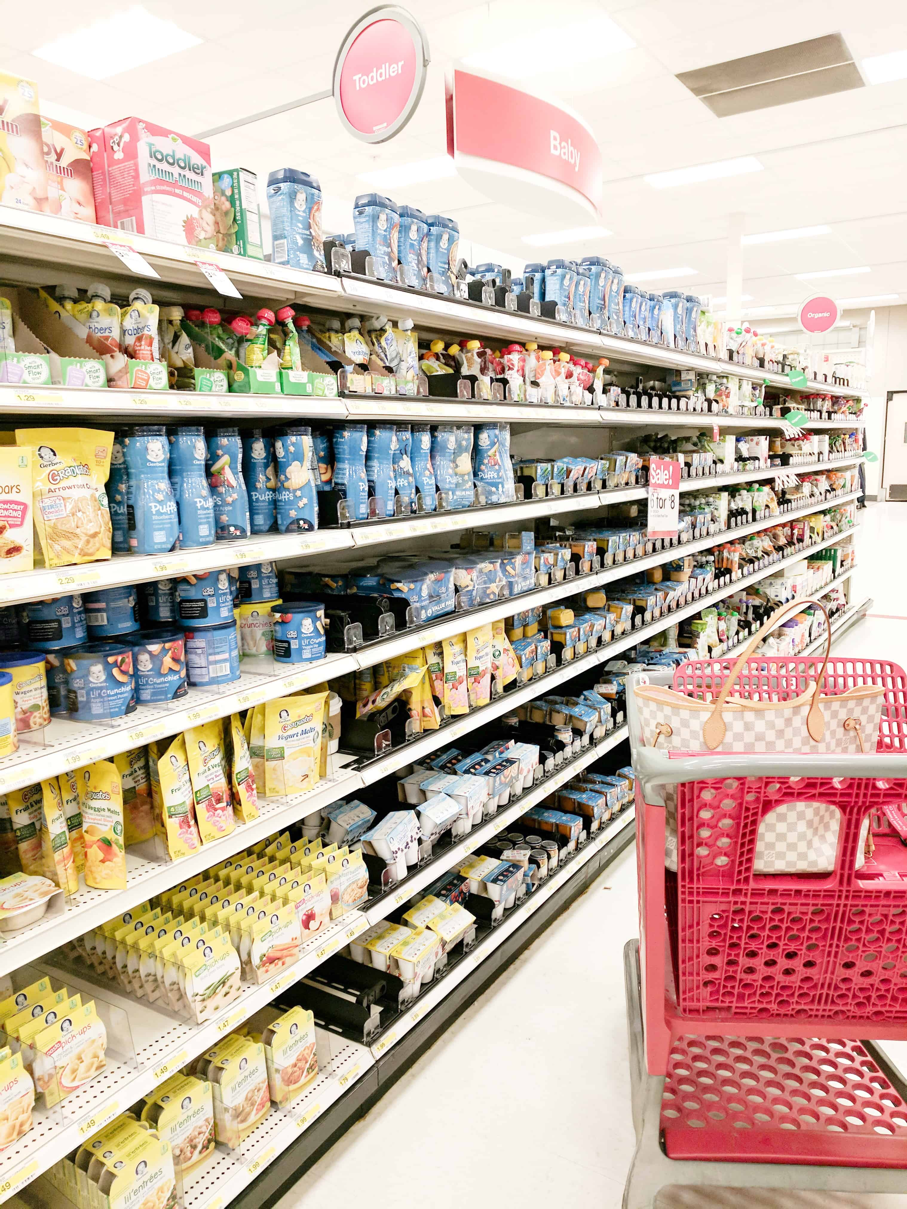Baby Isles at Target | Feeding Babies On The Go