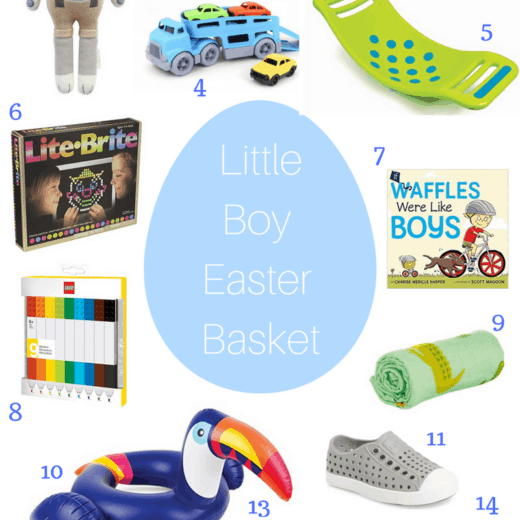 Little boys easter basket ideas for toddlers and young boys