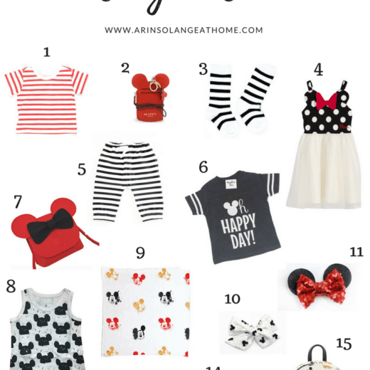 collage of Disney Fashion