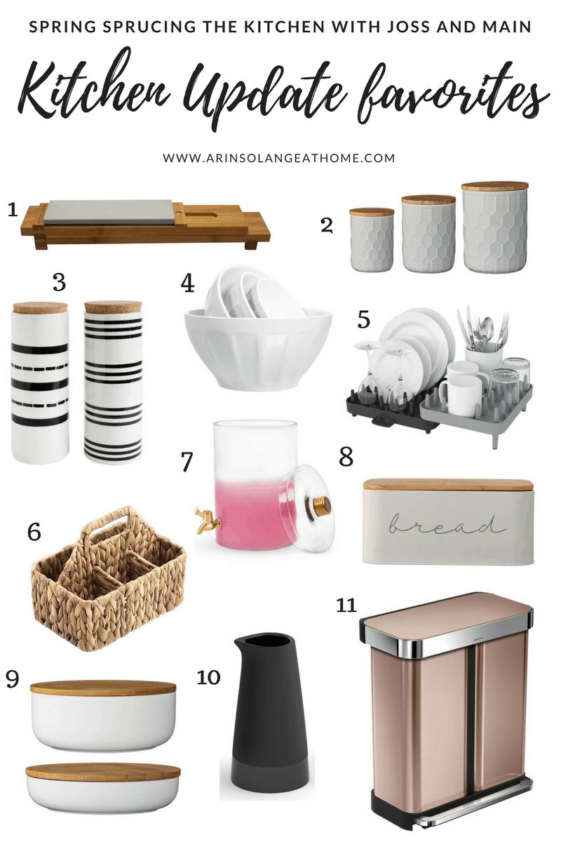 kitchen organization items