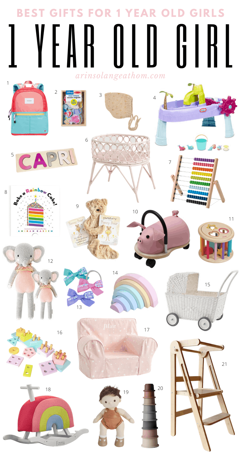 Best gifts for one year old girl