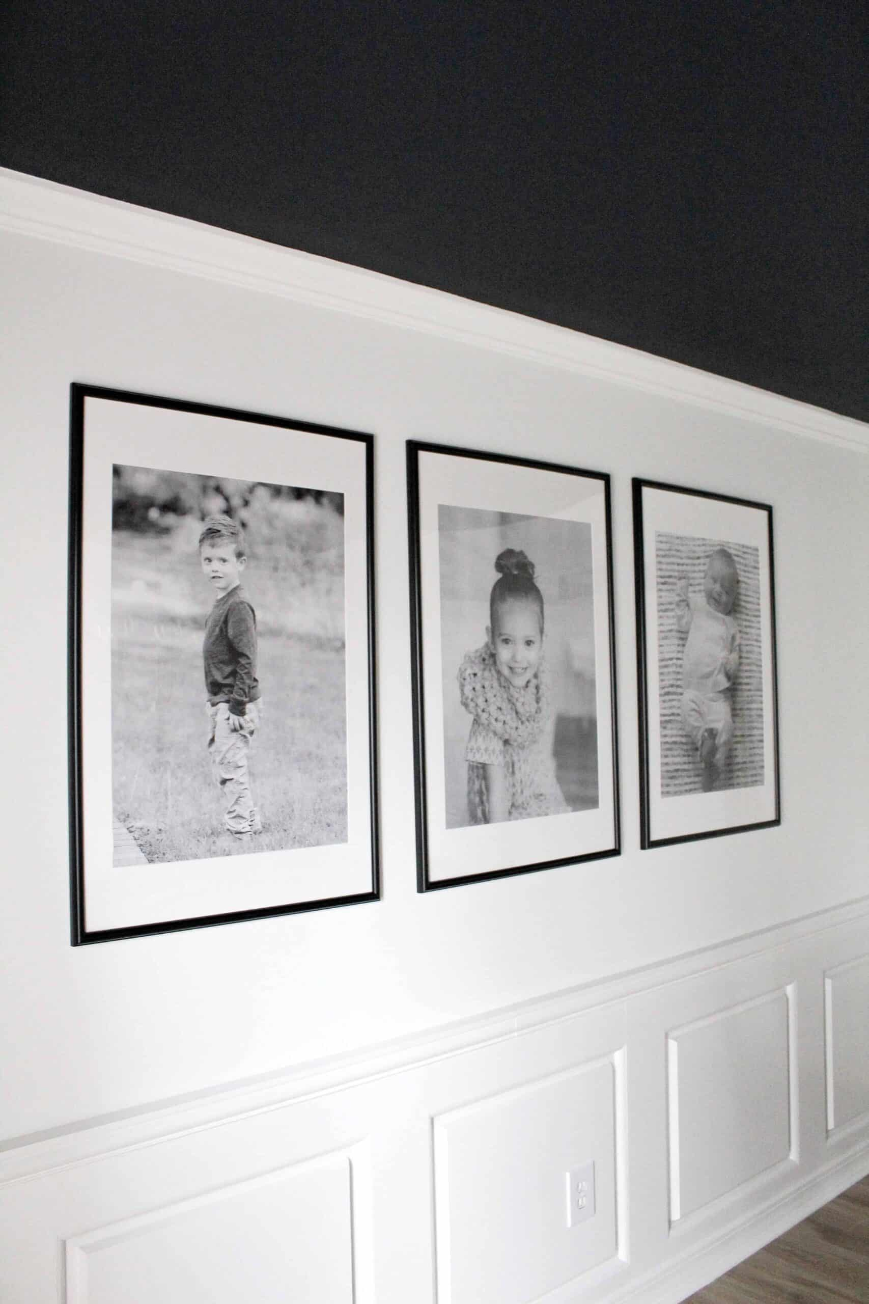 Large framed engineered prints