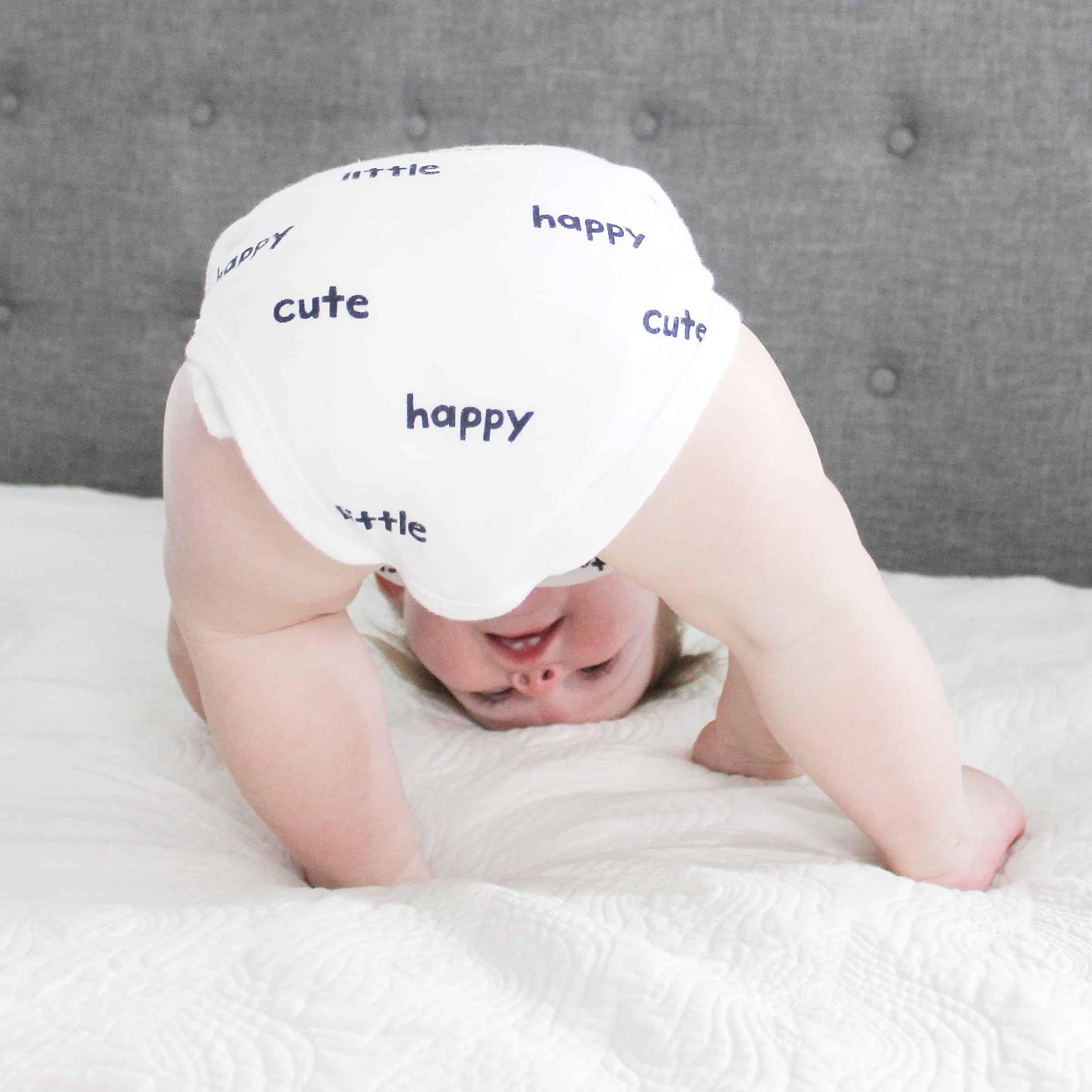 baby butt In onsie