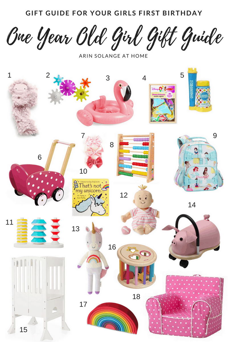 first birthday gift guide for little girl