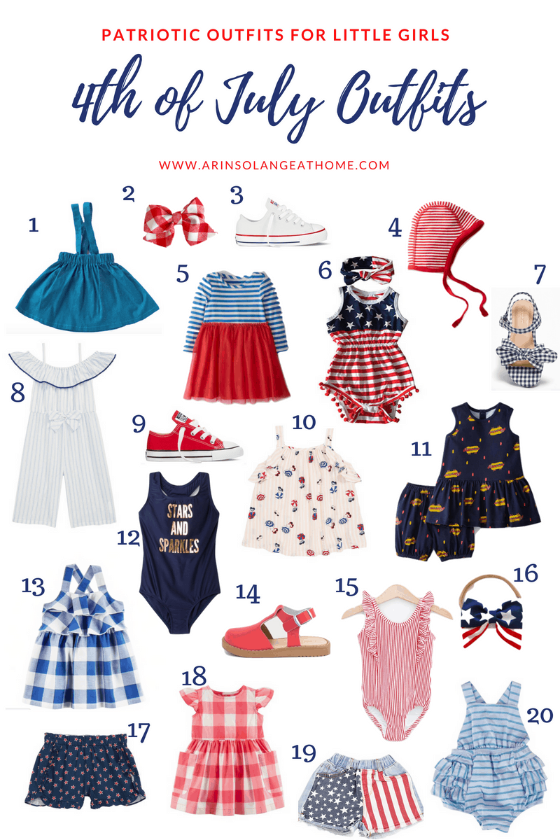 little girl 4th of July outfits
