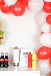Burger themed party