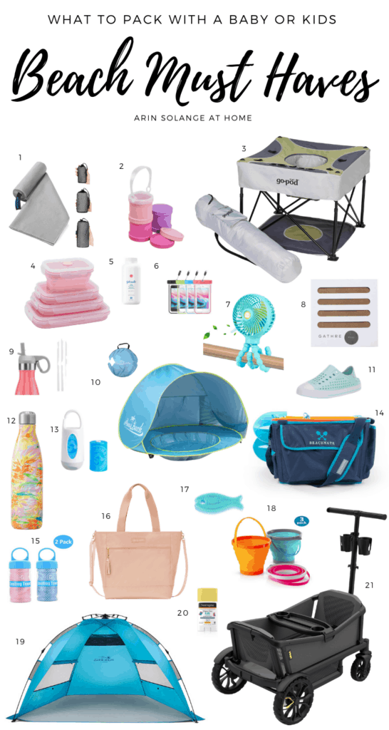 Beach favorites for kids and babies