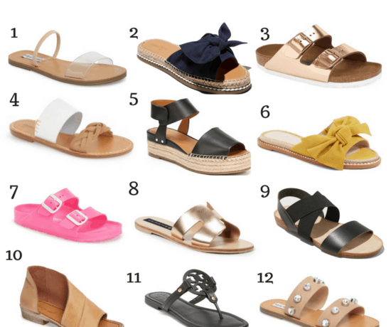 summer shoes round up