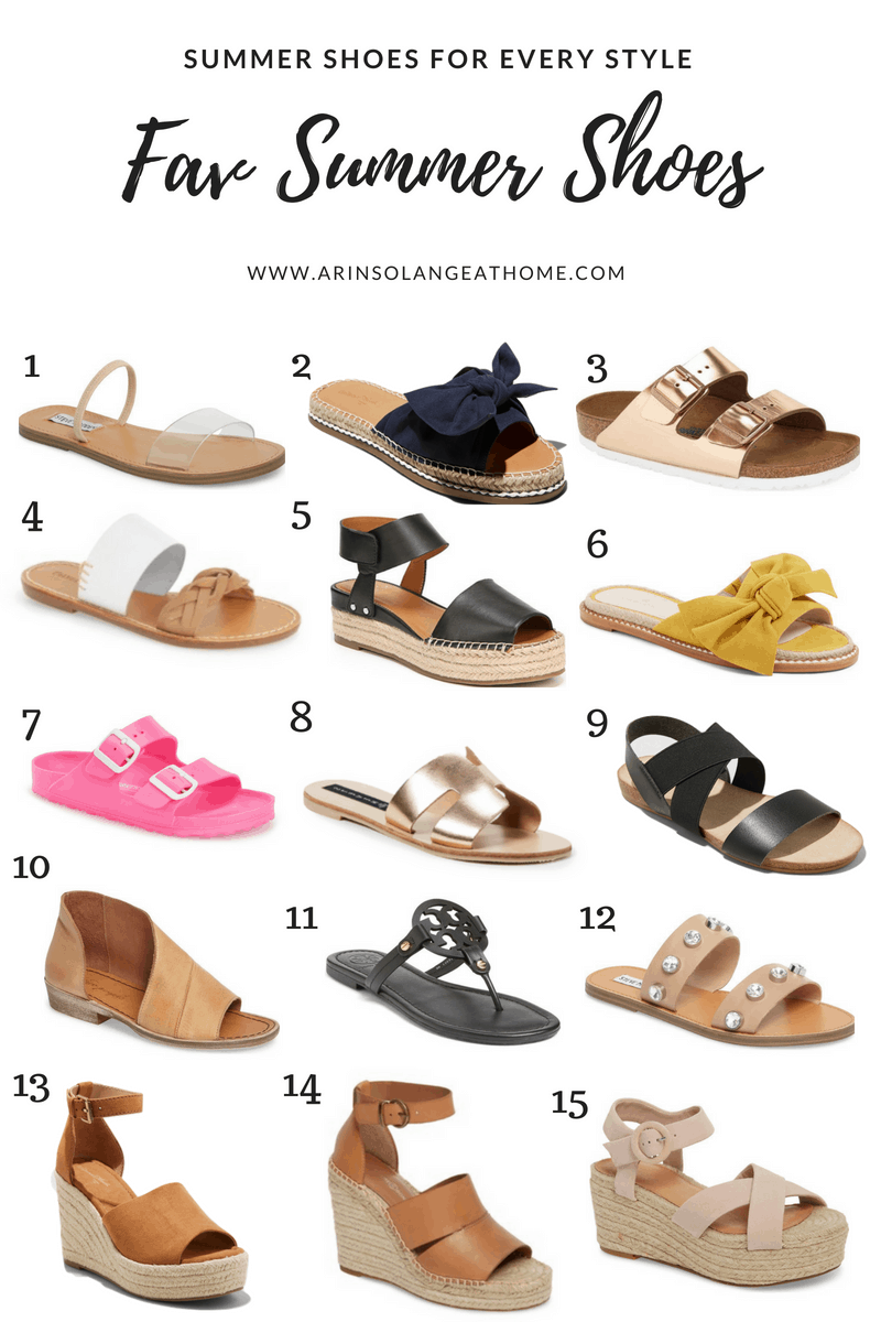summer shoes round up | Favorite Summer Shoes