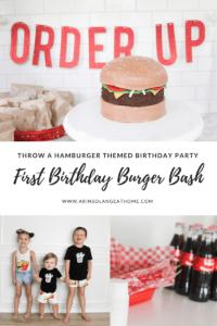 first birthday burger bash