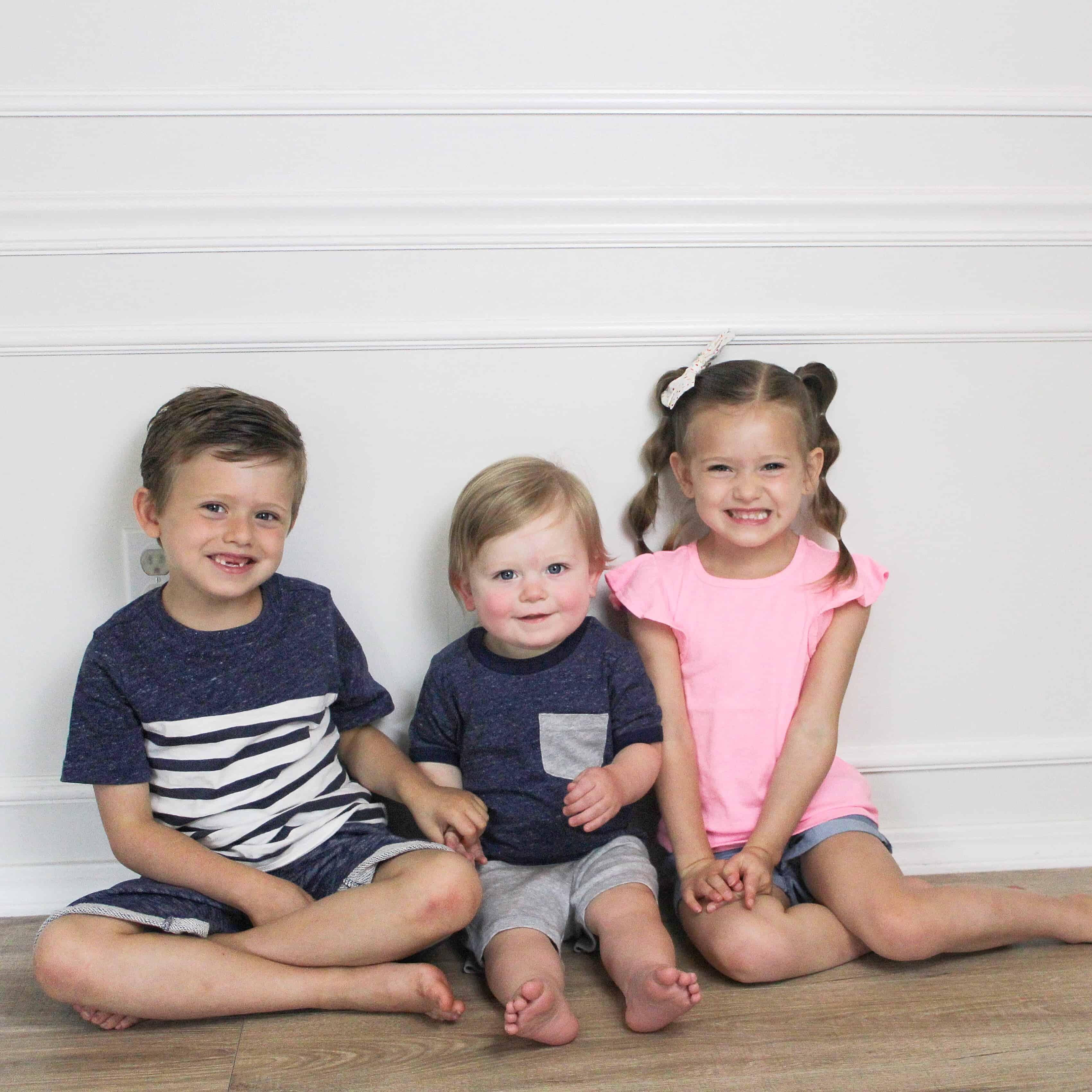 siblings in Carter's Clothing