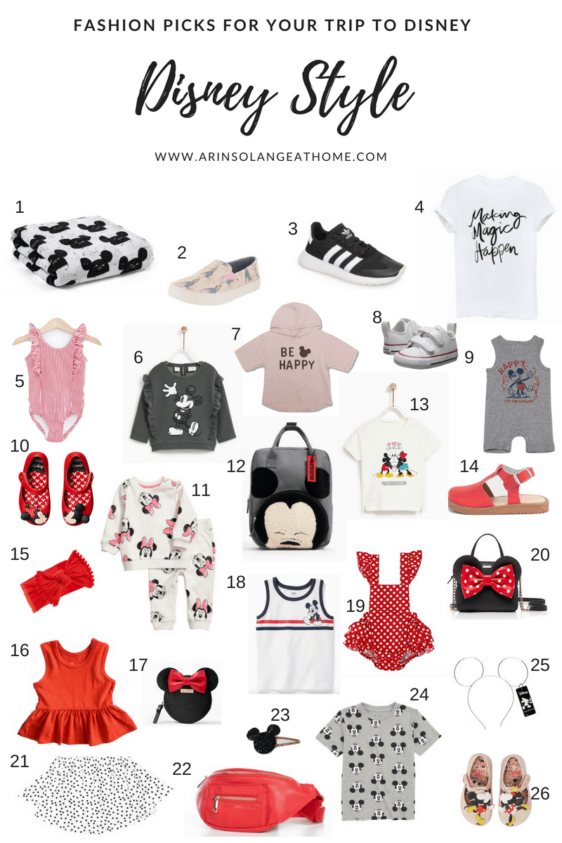 Disney world outfit inspiration