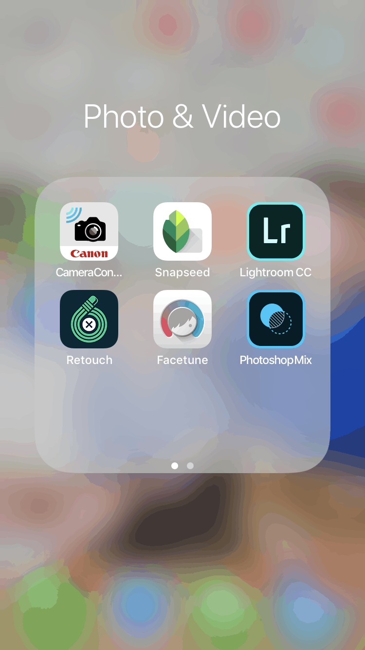 picture of iPhone photo editing apps