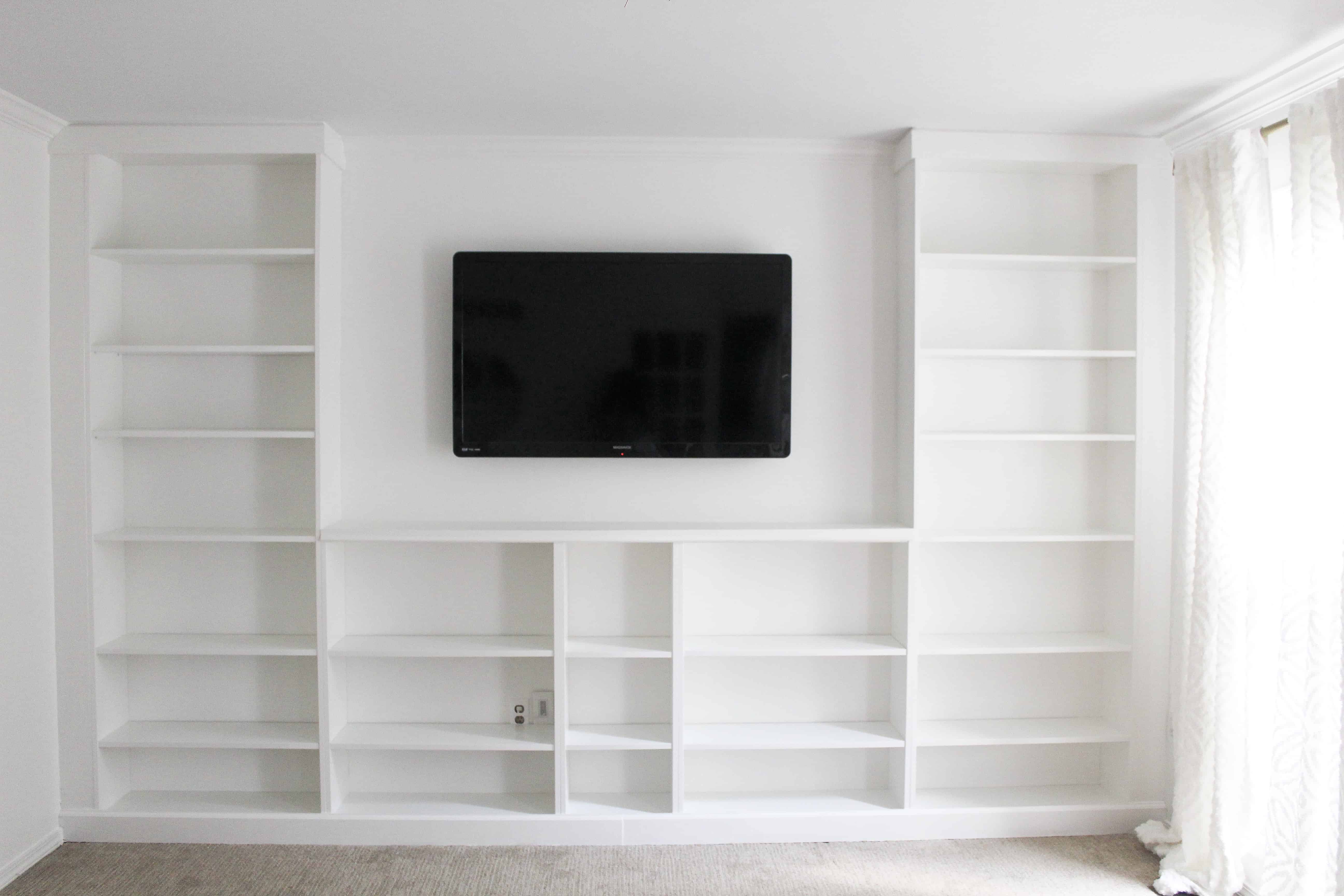 Ikea Built-ins from billy bookcase
