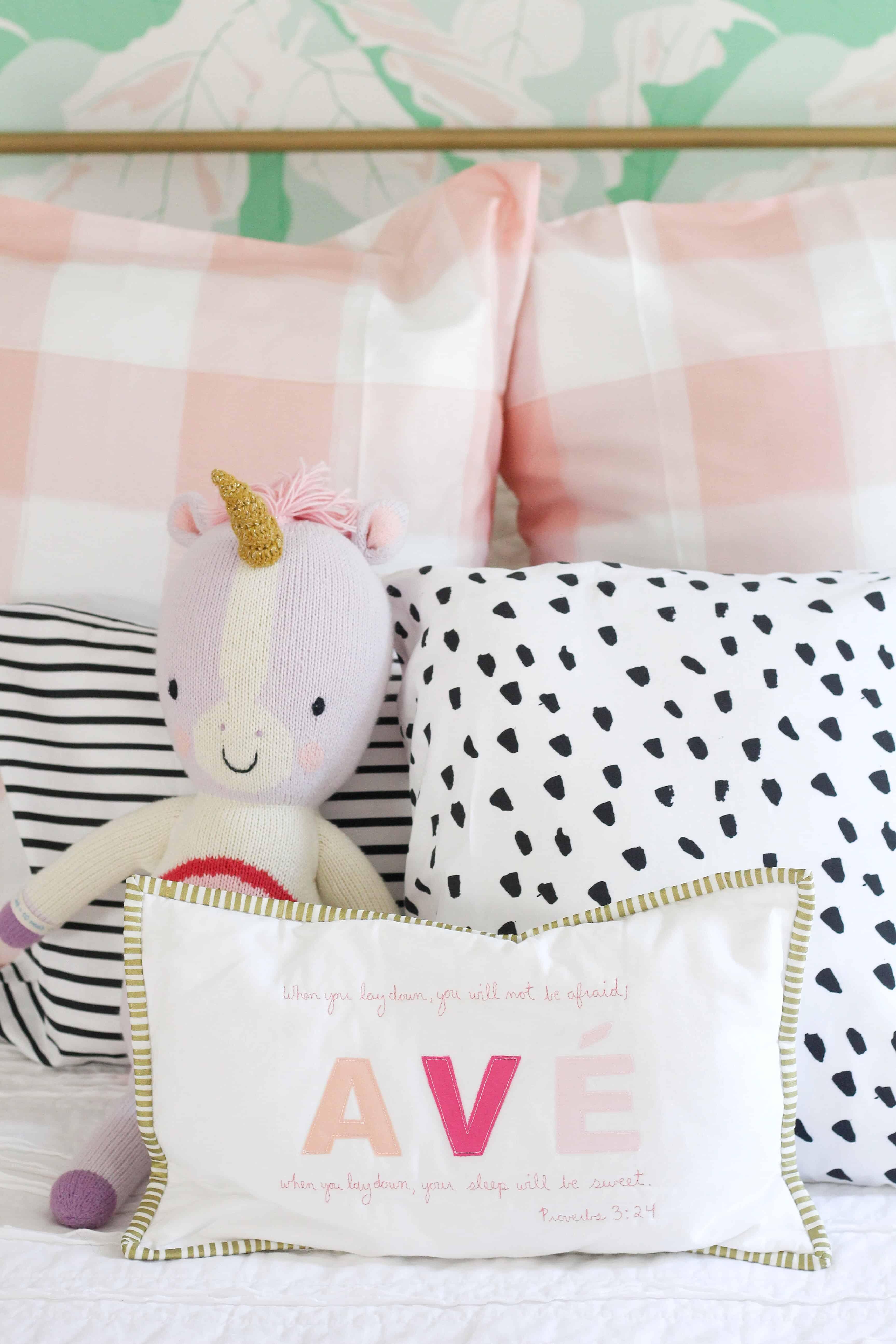 toddler girl bedding