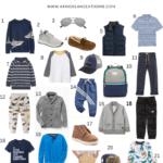 Boy's Fall Fashion