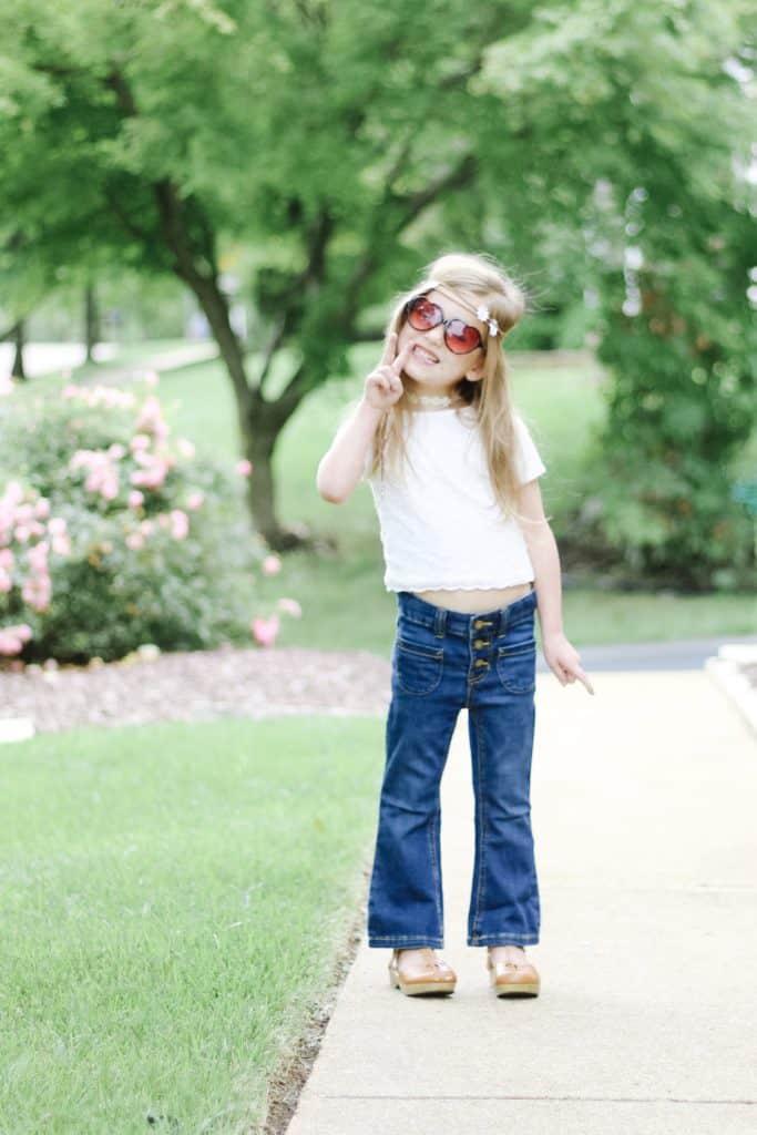 toddler diy hippie costume