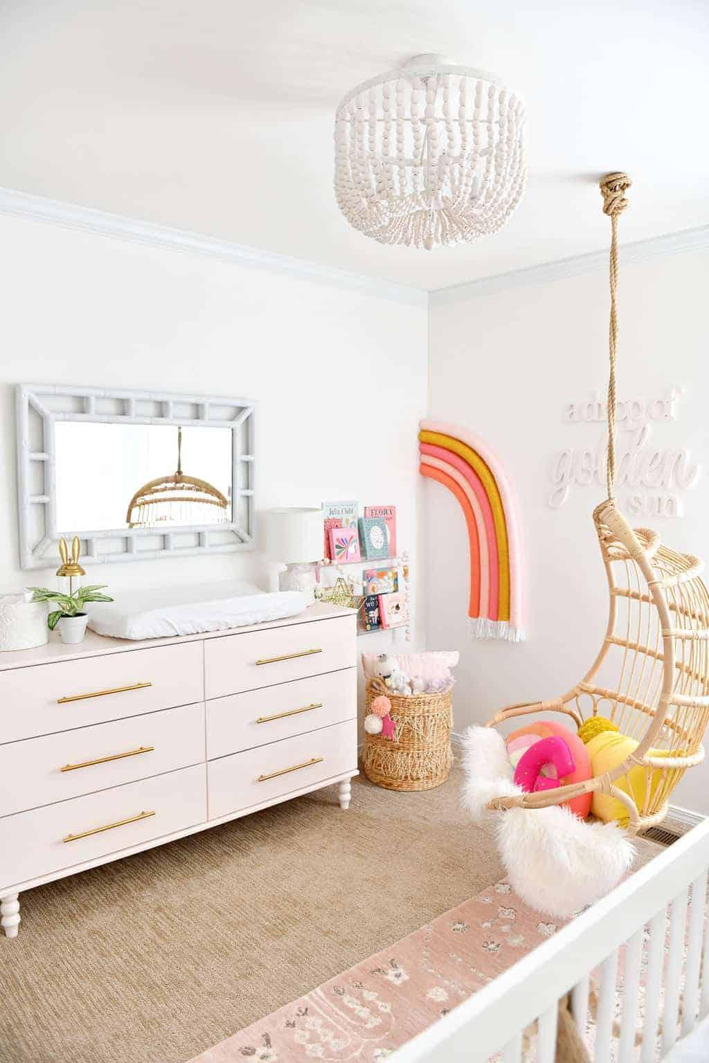 pink Ikea dresser