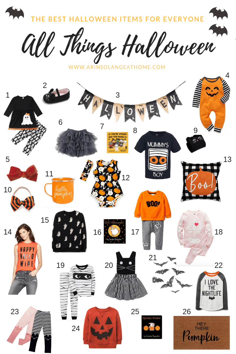 halloween outfits for the family and house wear round up