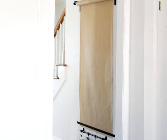 ikea hack wall mounted easel