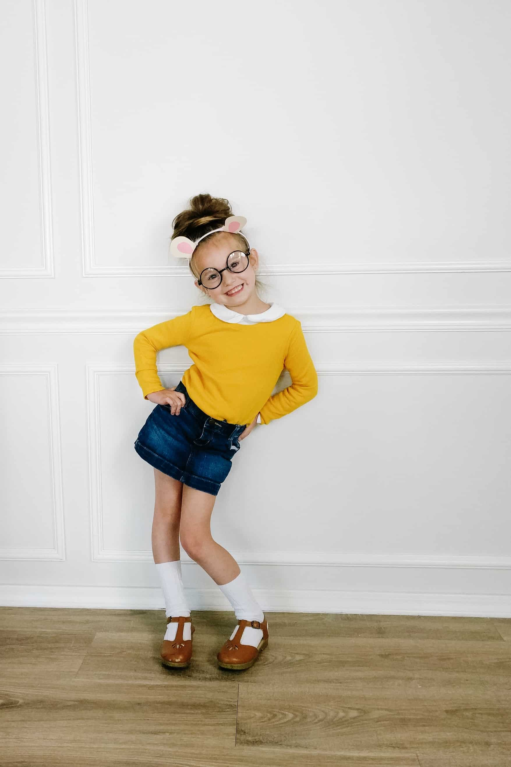toddler diy Arthur costume