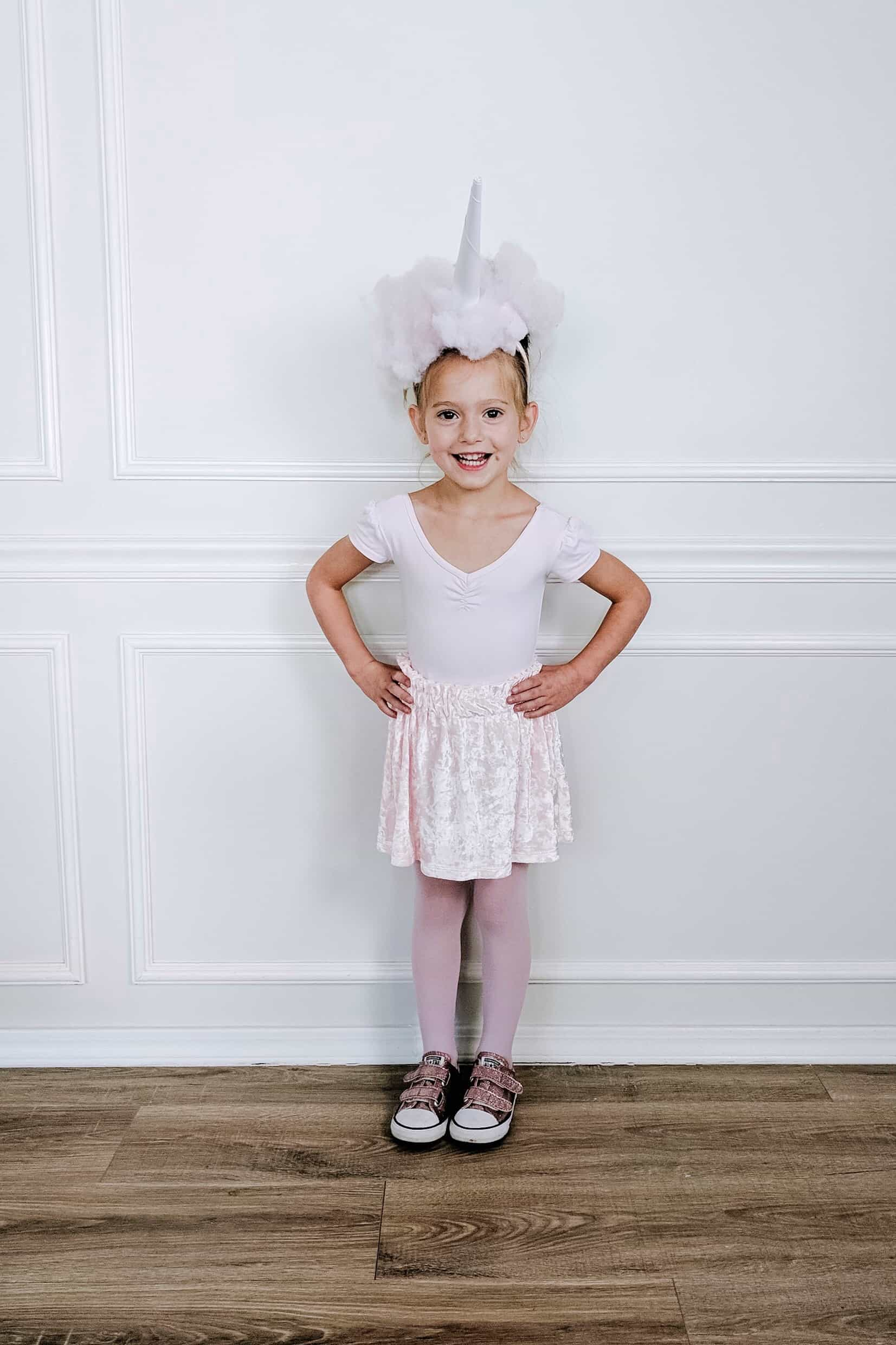 toddler diy cotton candy costume