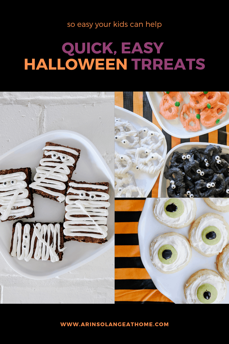 halloween treats graphic