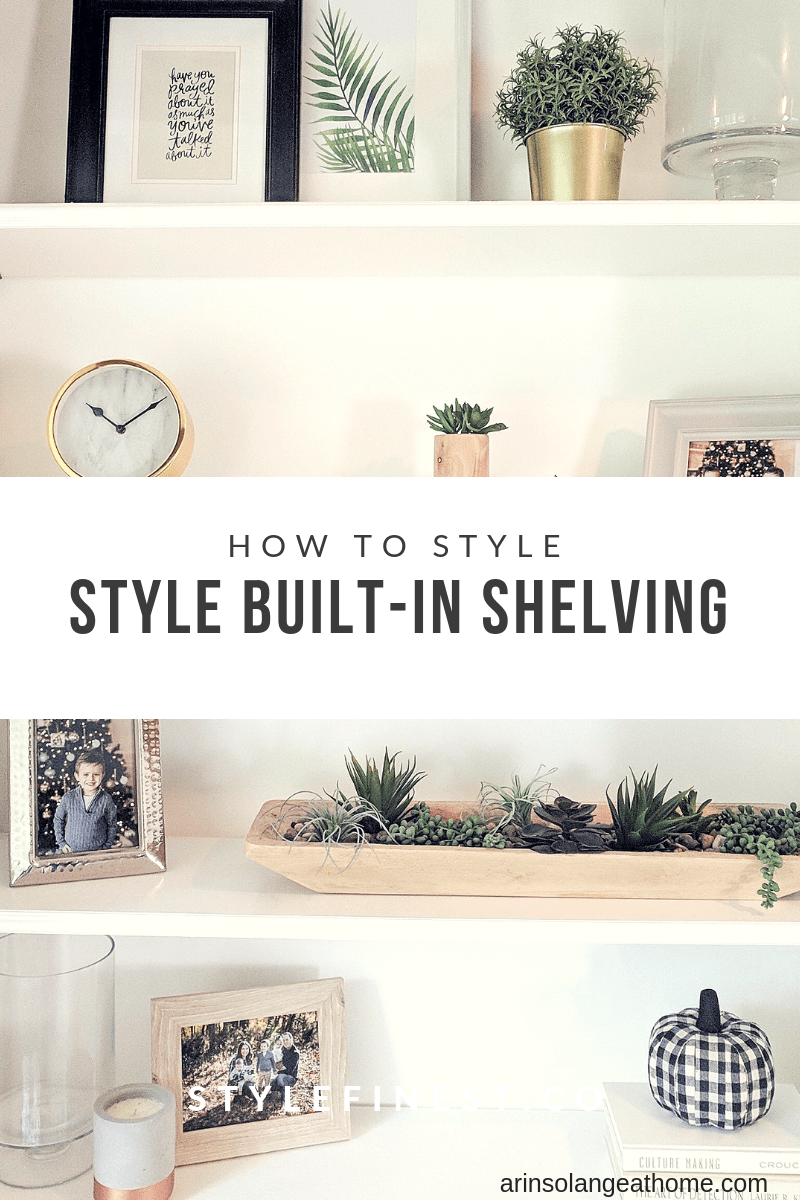 Style Built-in shelving