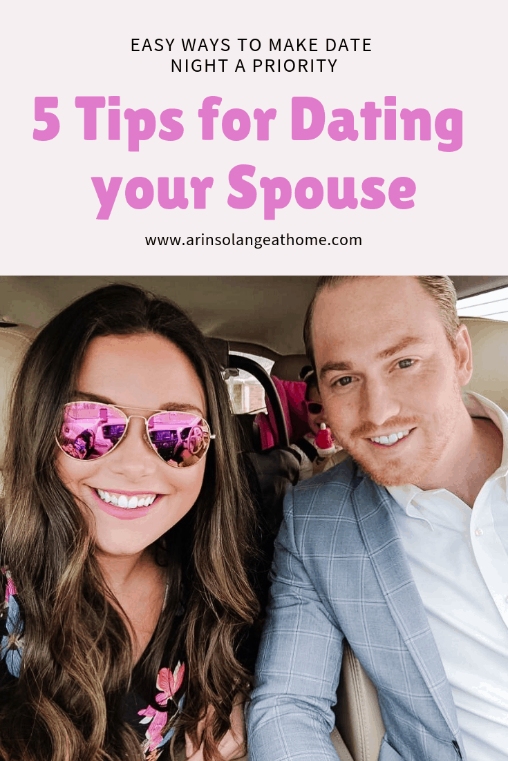 5 Tips for Dating your Spouse