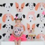 Avé's Pink Puppy Birthday